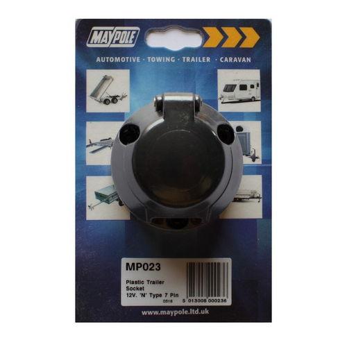 12N 7 Pin Replacement Socket