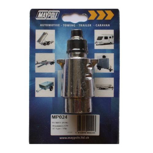 Aluminium Trailer Plug 12N 7 Pin