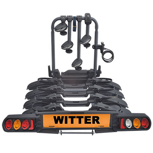 """Witter """"Pure Instinct"""" Towball Mounted 4 Bike Cycle Carrier?"""