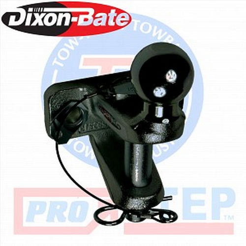 Tow-Trust 3.5 Tonne Black Pin & Ball Coupling (Dixon Bate)