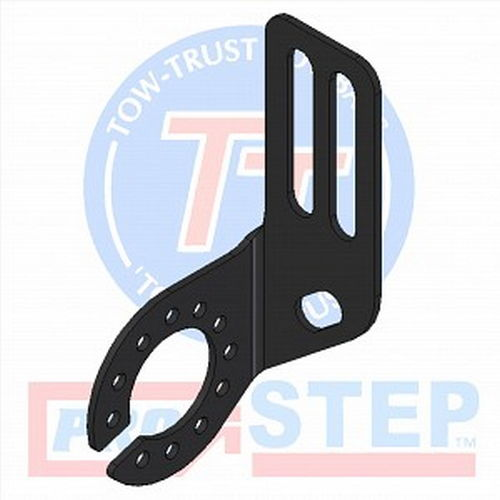 3mm Mild Steel Vertical Single Angle Socket Plate (Left Hand)